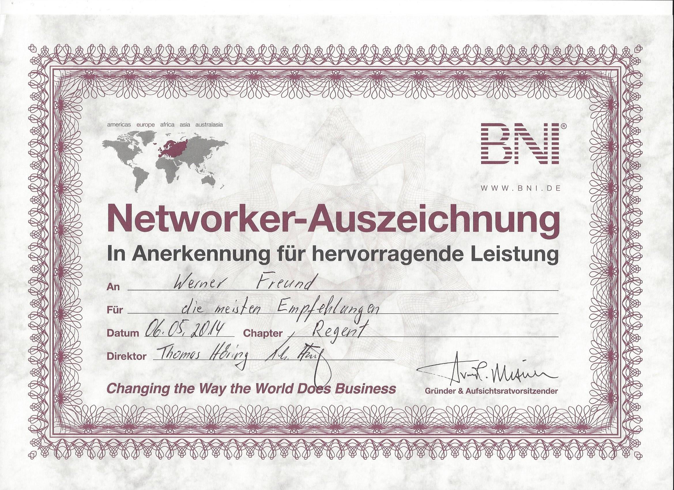 BNI_Networker_Auszeichnung_2